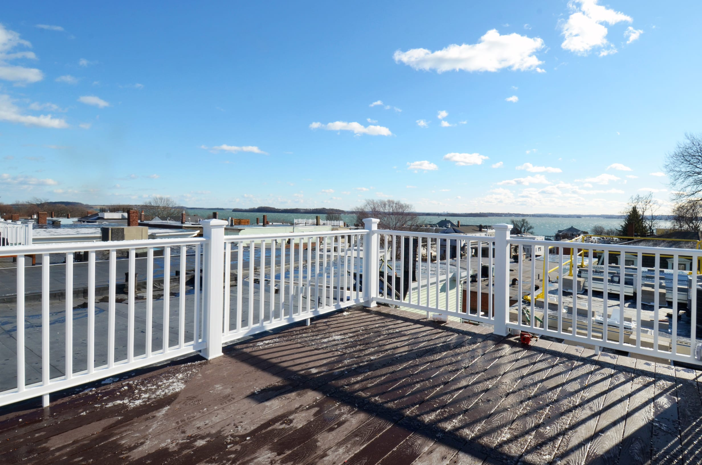 Photo of Finished Exterior Roof Deck of 808 E 5th Street by Kaplan Properties Boston