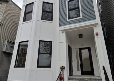 Photo of Finished Exterior of 827 E 2nd Street by Kaplan Properties Boston